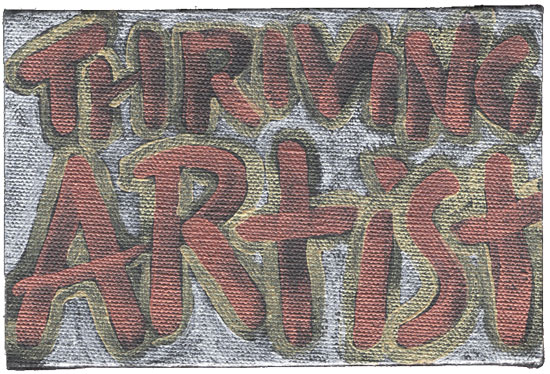 image of painting: #5 - Thriving Artist