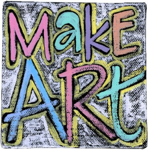 image of painting: Make Art