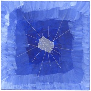 Blue Yes by Melissa Dinwiddie