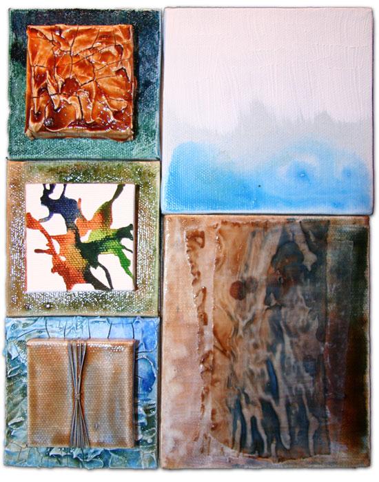 mixed media artwork by Melissa Dinwiddie