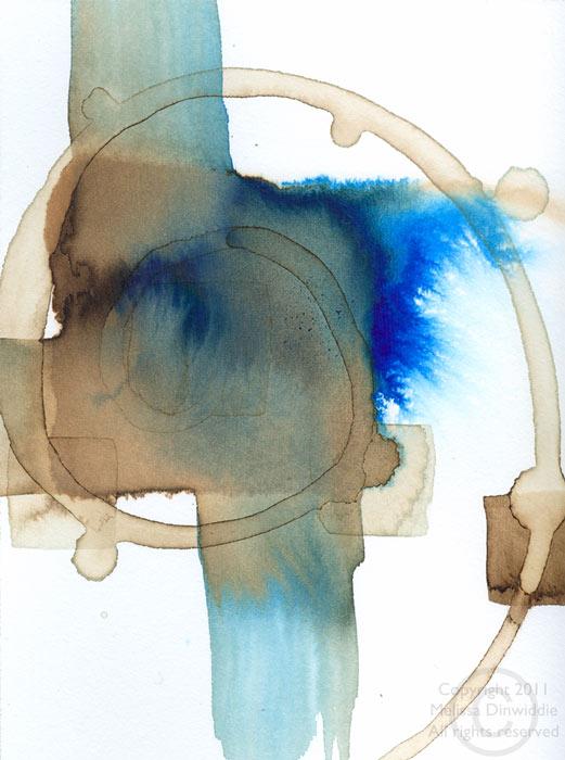 Spiral - work in progress by Melissa Dinwiddie