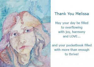 Dena McKitrick thank you note
