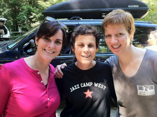Cindy, Sue & Melissa - last day at JCW 2011