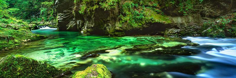 Vintgar Gorge ©Chris Morrison