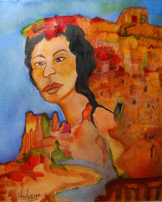 Grand Canyon Queen © Indigene Theresa Gaskin
