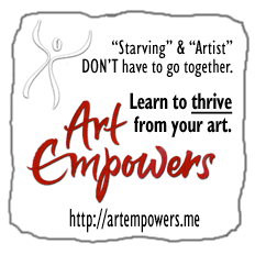 Art Empowers - art marketing & business for artists who want to thrive