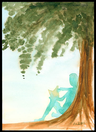 Amy Crook - tree ghost reader