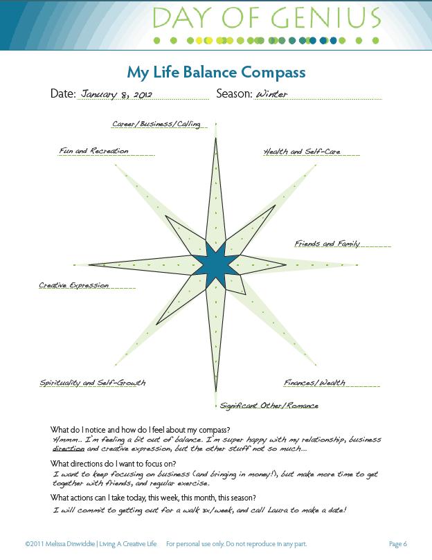 Life Balance Compass