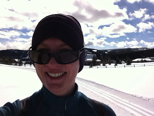 Self-Portrait with Snow