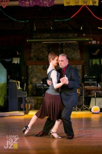 That's me, dancing Argentine tango!