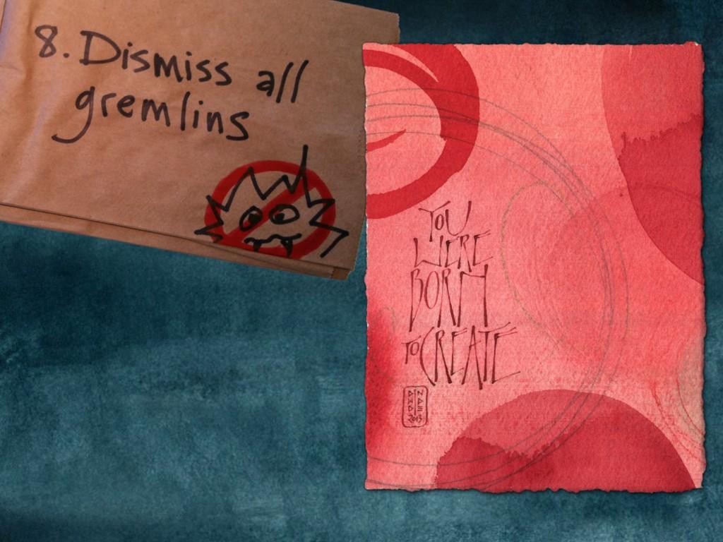 Spark Session slide: Rule 8: Dismiss all gremlins