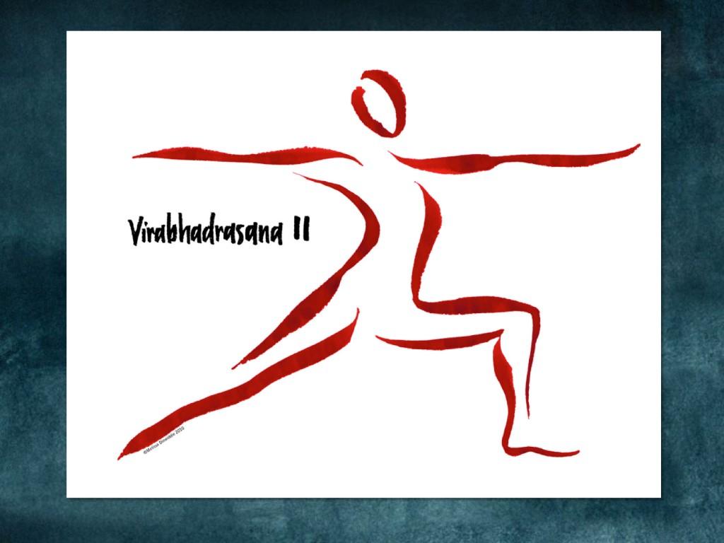 Spark Session slide: Yogini Warrior II