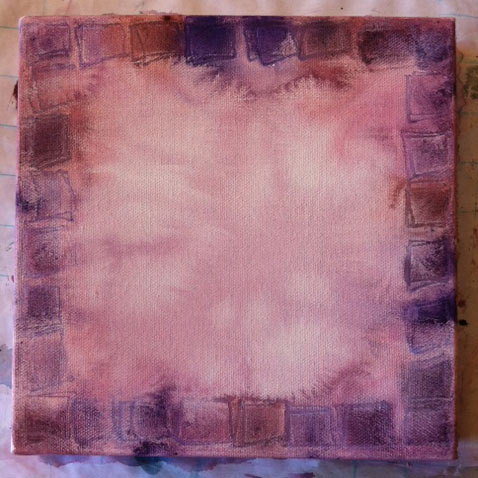 purple-canvas-drying