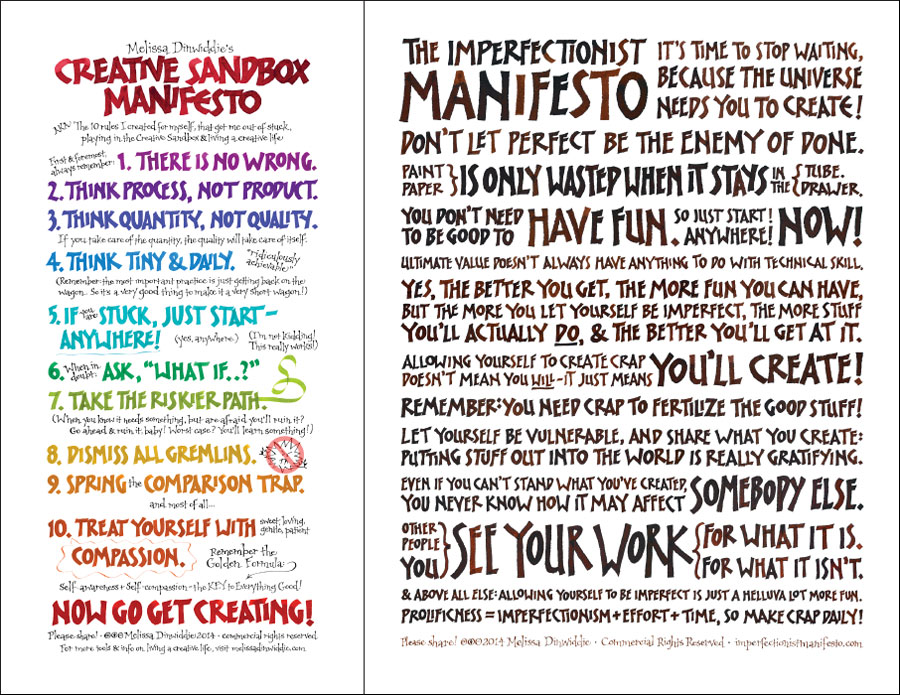 Manifestos by Melissa Dinwiddie