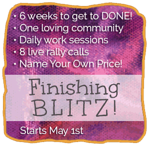 Finishing Blitz! 6 weeks to get to DONE!