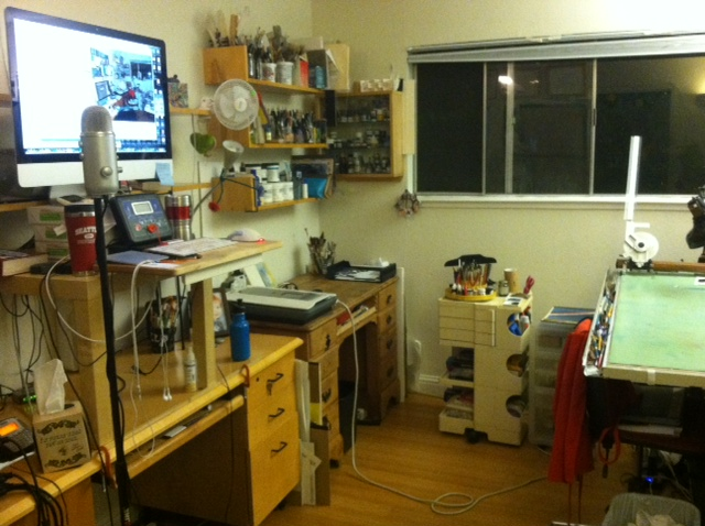 Studio, after (in-process)