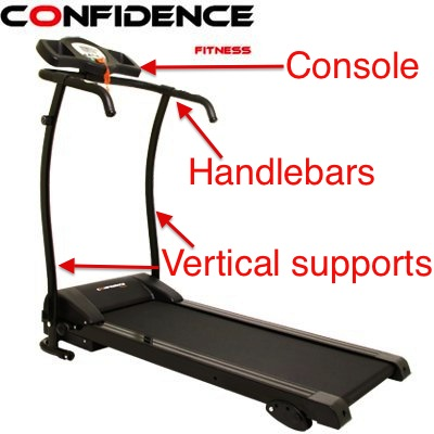 Confidence GTR Power Pro Treadmill