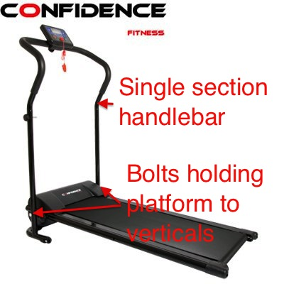 Confidence Power Plus treadmill hack