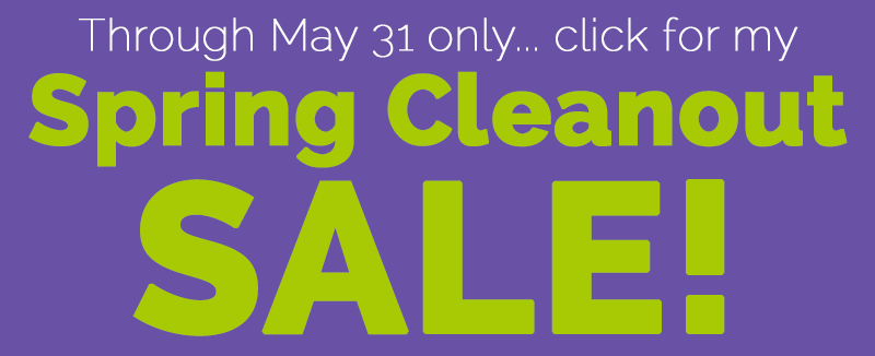 Spring Cleanout Sale!