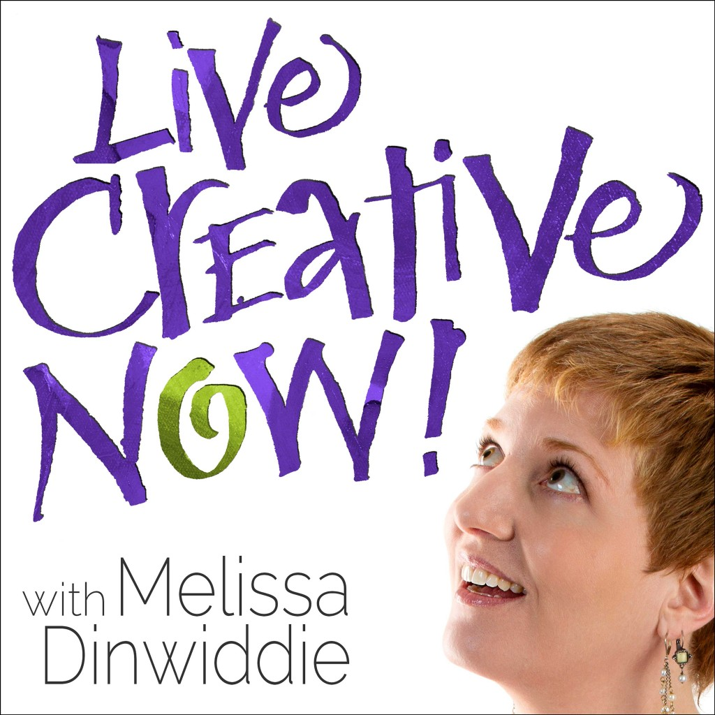 Live Creative Now! Podcast cover graphic