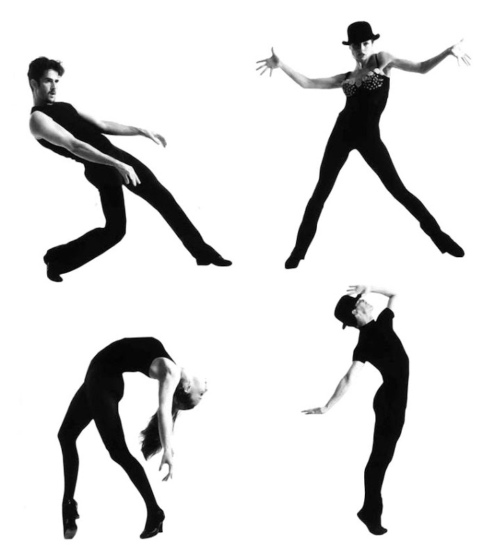 Fosse moves - from http://doloresdelargotowers.blogspot.com/2014/06/strike-pose.html