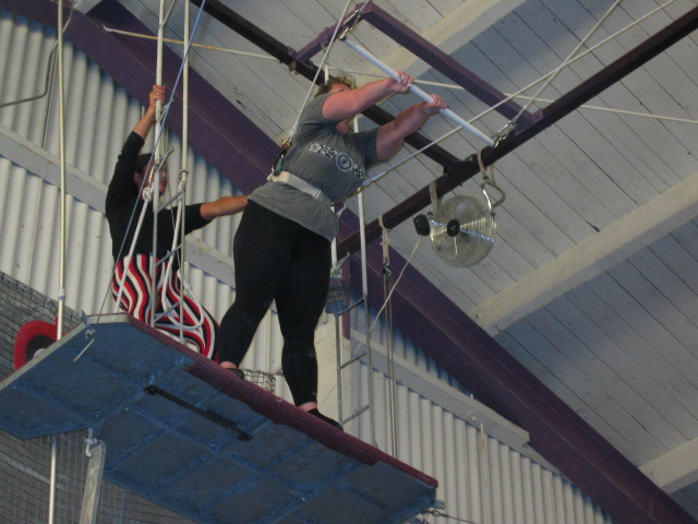 Photo courtesy of Trapeze Arts, Oakland