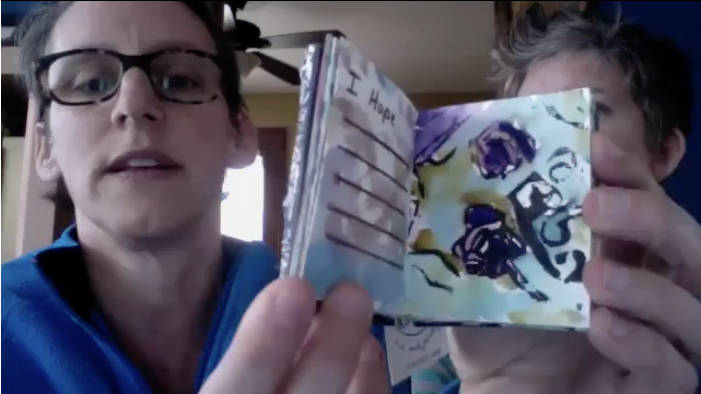 Tiny Book Show book - with Amy Tingle & Maya Stein