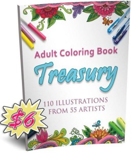 Adult Coloring Book Treasury