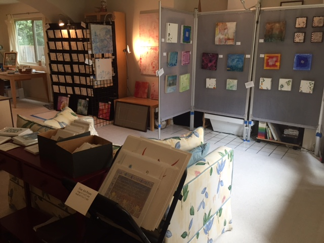 Open Studio: the view from the entryway
