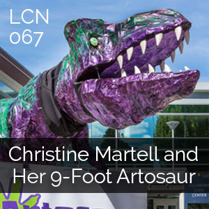 LCN 067: Christine Martell and Her 9-Foot Artosaur