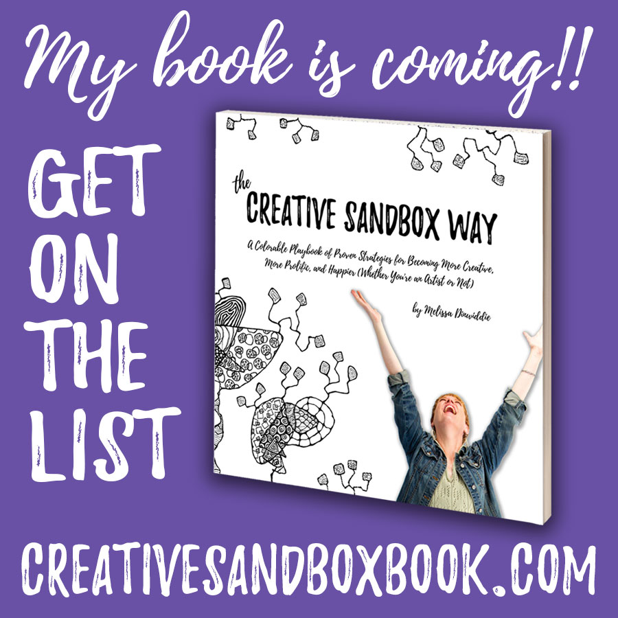 The Creative Sandbox Way - working title and cover mockup for my forthcoming book!