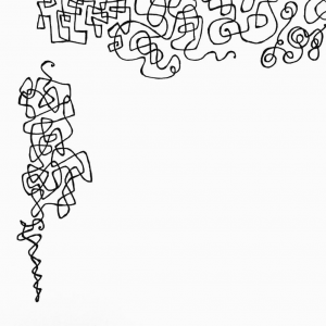 Scribble doodle by Melissa Dinwiddie