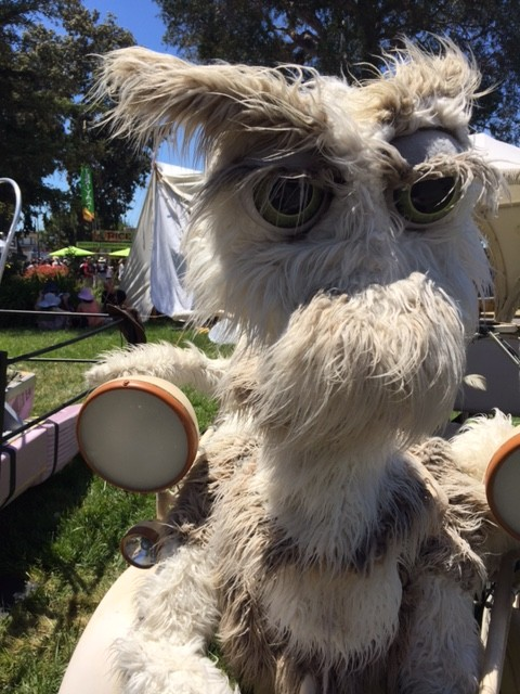 Maker Faire - furry critter vehicle