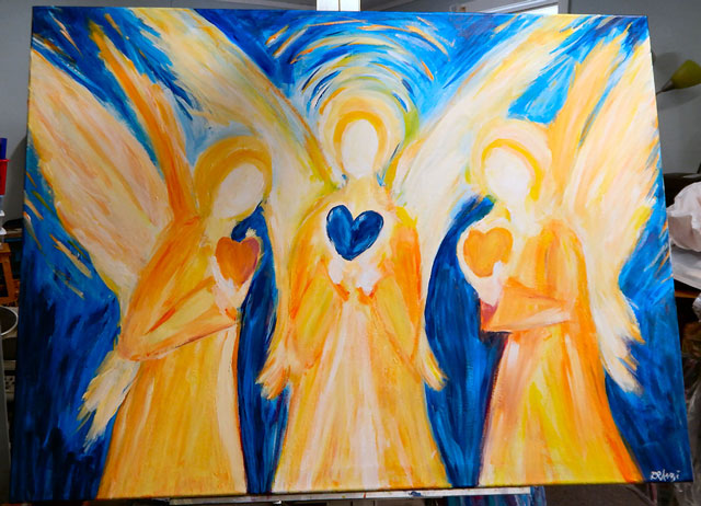<em>We Three Angels</em>
