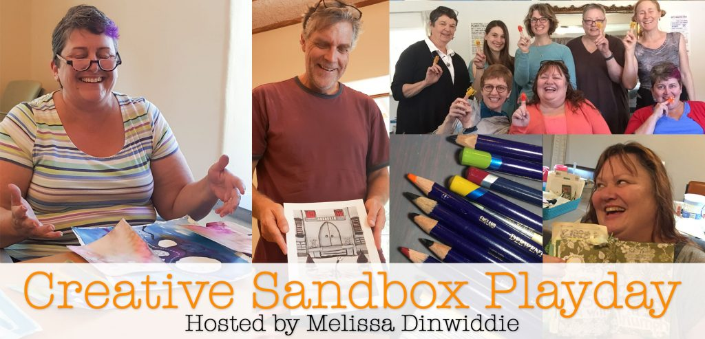 Creative Sandbox Playday hosted by Melissa Dinwiddie