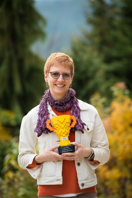 Me and my LEGO® trophy - Strategic Play® Facilitator Development Award 2018