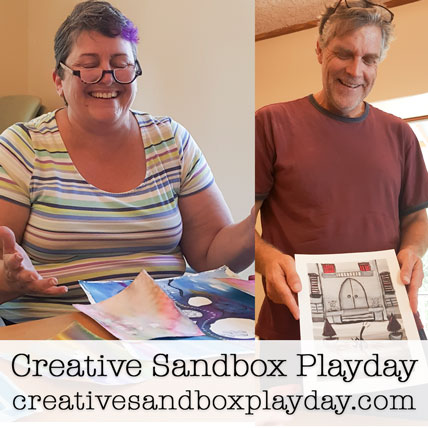 Come to Creative Sandbox Playday - a co-working day to create in community with other creatives and makers