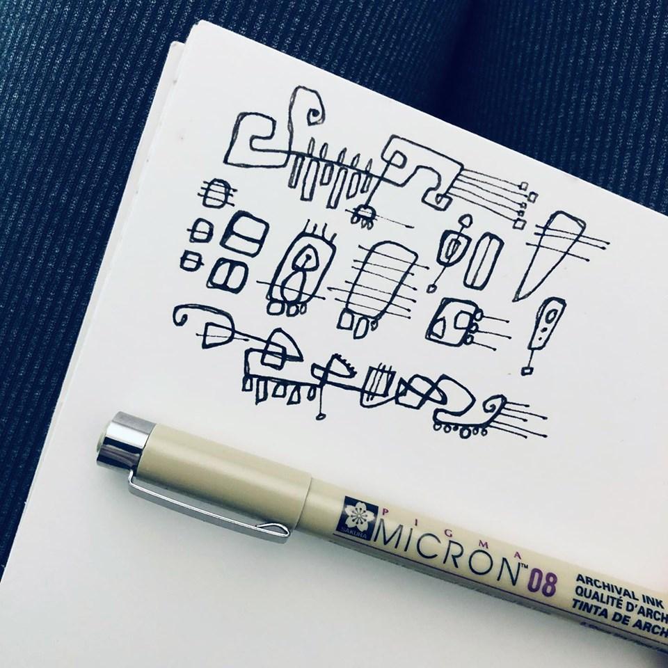 A doodle! Finally!